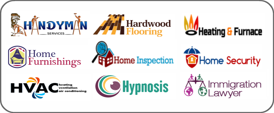 handyman, hardwood flooring, heating furnace, home furnishing, home inspection, home security, hvac, hypnosis, immigration lawyer