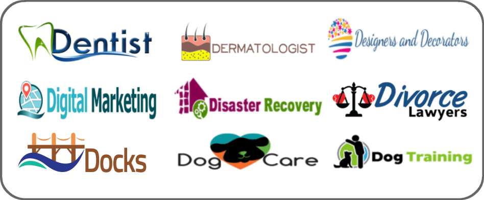 dentists, dermatologists, designers, decorators, digital marketing, disaster recovery, divorce lawyers, docks, dog care, dog training