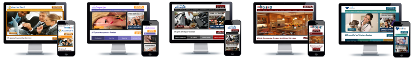 Affordable mobile responsive website designs for the small business owner.