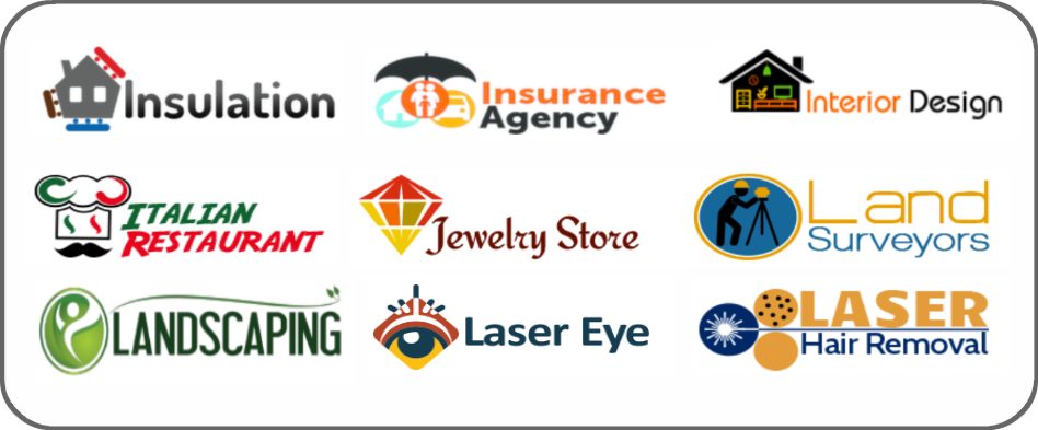 insulation, insurance agency, interior design, Italian restaurant, jewelry store, land surveyor, landscaping, laser eye, laser hair removal