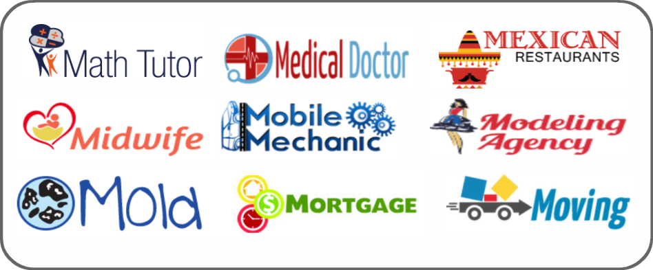 math tutor, medical doctor, Mexican restaurant, mobile mechanic, massage therapist, medical doctor, mobile mechanic, modeling agency, mold, mortgage, moving company