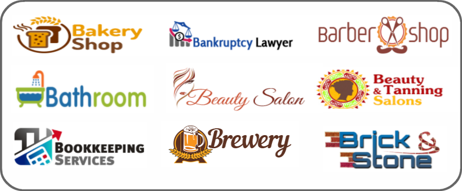 bakery, bankruptcy lawyer, barber shop, bathroom, beauty salon, beauty tanning salon, bookkeeping services, brewery, brick and stone