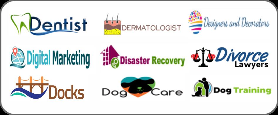 dentists, dermatologists, designers, decorators, digital marketing, disaster recovery, divorce lawyers, docks, dog care, dog training