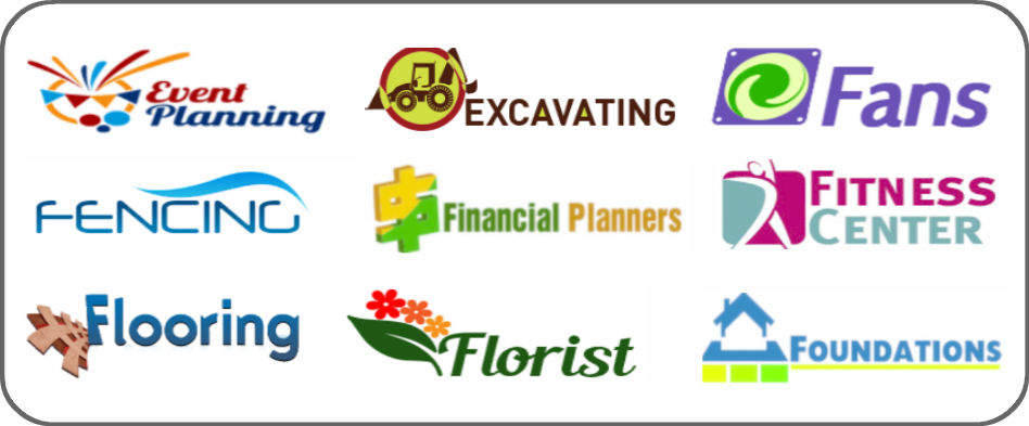 event planning, excavating, fans, fencing, financial planner, fitness center, flooring, florists, foundations